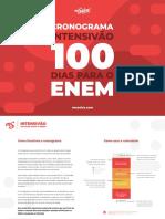 MS2018 Cronograma Intensivao 100Dias
