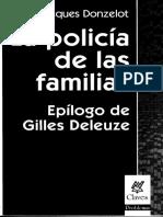 La Policia de Las Familias Prologo Capitulo I y II
