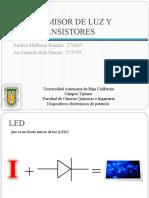 LED y Fototransistor
