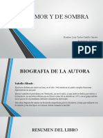 DE AMOR Y DE SOMBRA