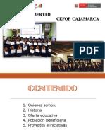 Perú CEFOP-La Libertad y Cajamarca_Presentación Fe y Alegría 57