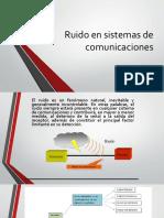 Ruido en Sistemas de Comunicaciones3x
