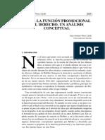 Sobre La Funcin Promocional Del Derecho Un Anlisis Conceptual 0