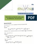 Derivadas Matemática I