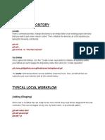 GIT Basic Commands