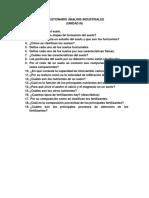 Cuestionario Analisis Industriales Unid. 3