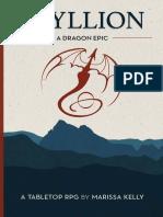 Epyllion - A Dragon Epic