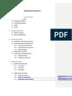 III.I Esquema de Proyecto de Diseño de Sistemas