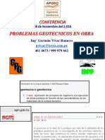 5.- 20161108 Problemas Geotecnicos en Obra - Germán Vivar - APGEO