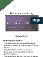 1101 Humanities Essay