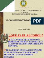 ALCOHOLISMO DROGADICCION