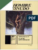 Claude Lévi-Strauss - Mitologicas IV - El hombre desnudo (Scan).pdf