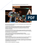 La Cerveza Artesanal en El Perú