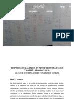 Proyecto Contaminacion Alcalina en Rios Pa y Ma