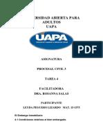 Tarea 4 Procesal Civil Leyda
