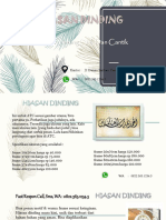 Hiasan Dinding 3D Awesome Fast Respon Call, Sms, WA