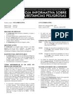 Ficha Ciclohexanol