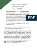Alan Collins State-induced Security Dilemma.pdf
