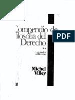 Compendio de Filosofía Del Derecho.