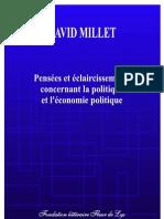 D. Millet - Economie Politique