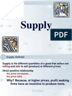 CompetitiveMarket Supply