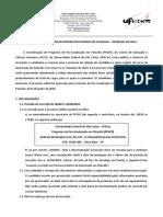 Edital - DOUTORADO - Processo Seletivo 2019