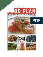 Tapout Plan Nutricional