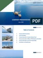 Company Presentation of Jutal (June 2018)