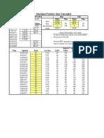 standard position size.xls