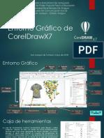 Entorno Gráfico de CorelDrawX7