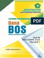 Cover Laporan Dana Bos