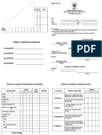 DepEd Form 138