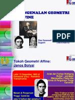 Geometri Affine