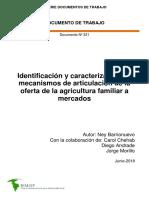 Identificación oferta agricultura familiar