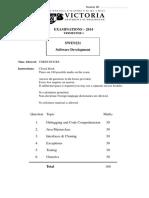 Exam14 Solutions