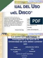 uso de disco