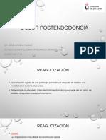 Dolor Postendodoncia