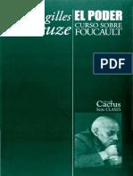 Deleuze, Gilles - El Poder. Curso Sobre Foucault. Tomo 2