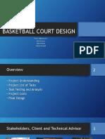 Basketball Court Design Final Presentaion