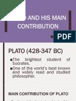 Philosophy of Plato