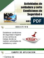 2 Act Soldadura y Corte Nom 027 Stps 2008