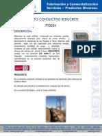 cemento conductivo reducrete