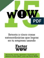 75WOW - Setenta y Cinco Cosas e - Roberto Carlos