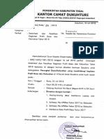 Undangan Sosialisasi & Pelatihan Profil Des 2018