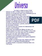 LAURA BERNAL 6ºB EL UNIVERSO Y EL SISTEMA SOLAR