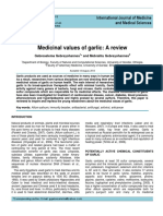 Medicinal values of garlic.pdf