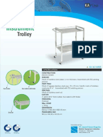 31. Instrument Trolley KA 16-01BSS 2016