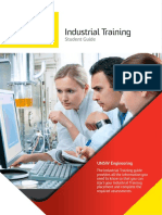 Engineering Industrial Training Student Guide Spread