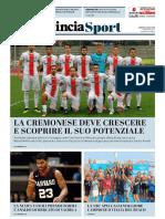 La Provincia Di Cremona 30-07-2018 - Sport