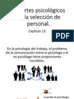 Reportes Psicológicos en La Selección de Personal